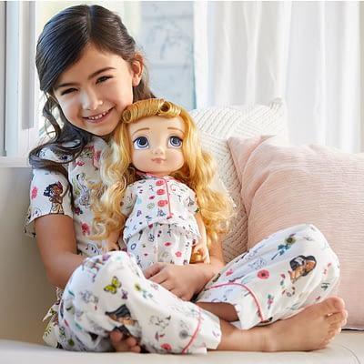 Pijama Pantalón Animators Para Niña Y Muñeca