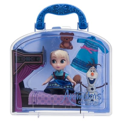 Set Mini Doll Cajita Elsa Frozen