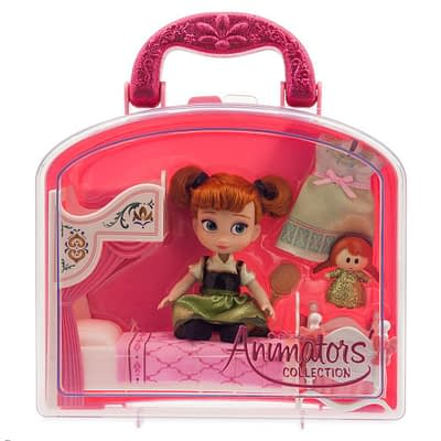 Mini Doll Cajita Play Set Anna Frozen
