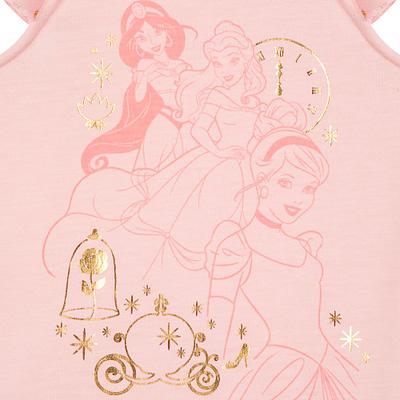 Pijama Bata Rosa Princesas Deluxe
