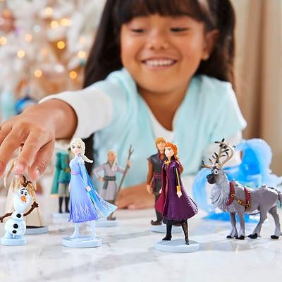 Coleccion De Lujo Frozen II 10 Figuras