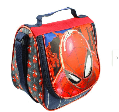 Lonchera Spiderman Ruz