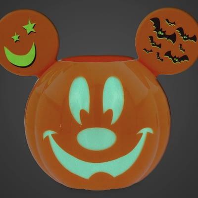 Calabaza Naranja para Dulces Mickey